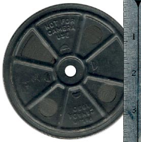 4 Inch Reels Hold approximately 100 feet of film