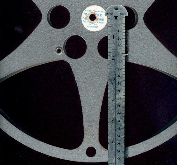 14 Inch Reels Hold approximately 1600 feet of film