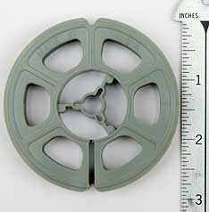 3 Inch Reels Hold approximately 50 feet of film